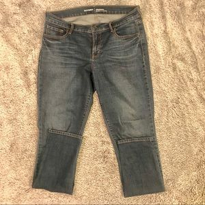 Dark Wash Mid-Rise Skinny Jeans